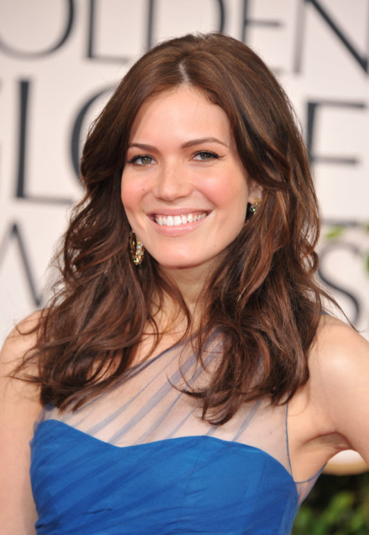 BEVERLY HILLS, CA - JANUARY 16: Actress/singer Mandy Moore arrives at the 68th Annual Golden Globe Awards held at The Beverly Hilton hotel on January 16, 2011 in Beverly Hills, California. (Photo by George Pimentel/WireImage)