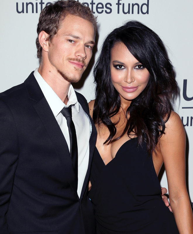 Naya-Rivera-and-Hubby