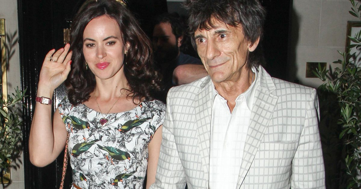 Ronnie-Wood-and-wife-Sally-Humphreys