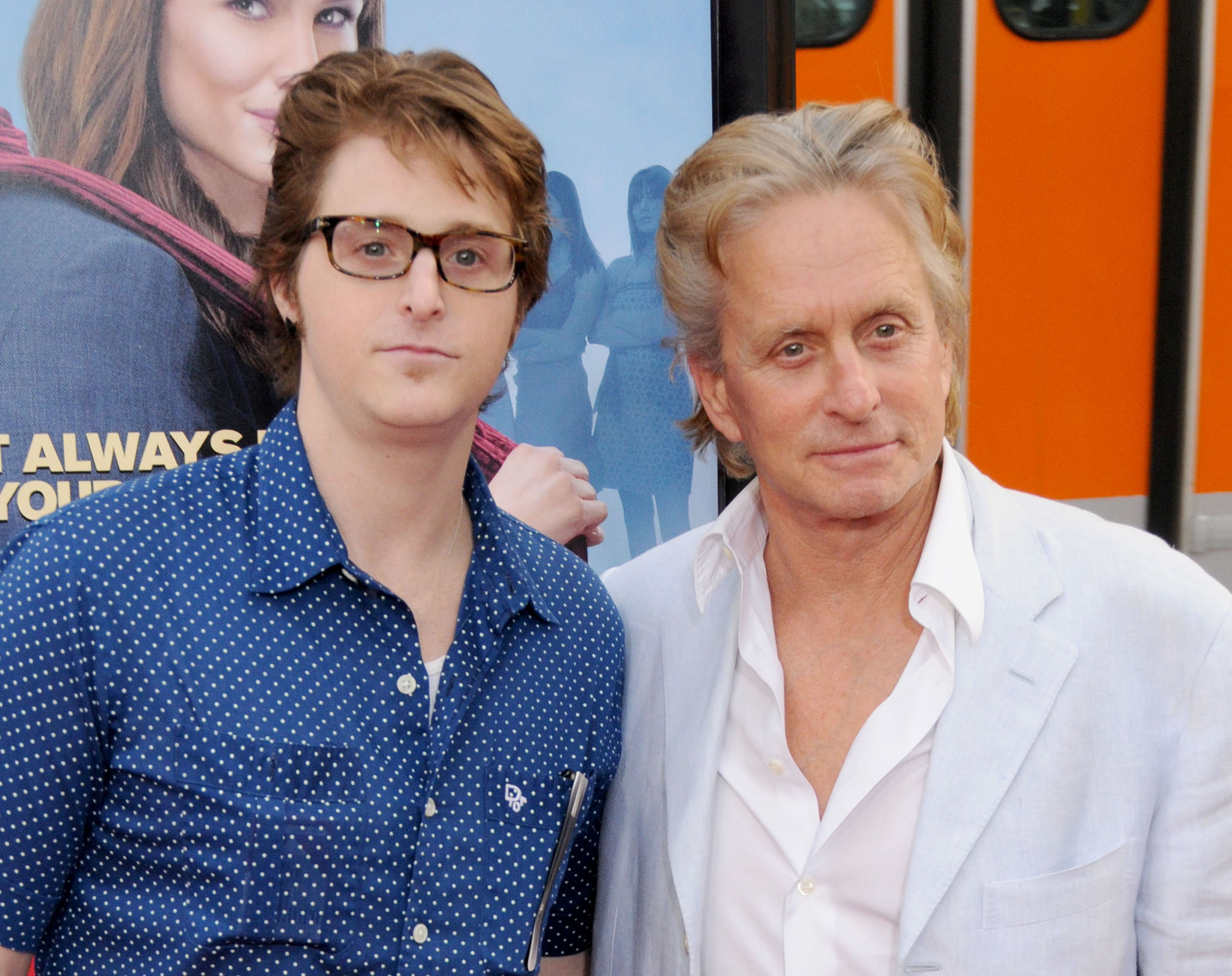 "April 27, 2009 Hollywood, Ca. Cameron Douglas and Michael Douglas ""Ghosts of Girlfriends Past"" World Premiere Held at Grauman's Chinese Theatre © Gregg DeGuire / AFF-USA.COM"