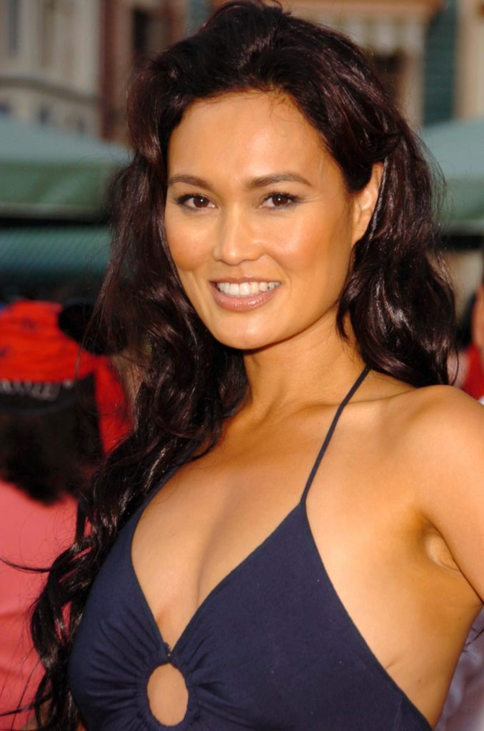 tia carrere then