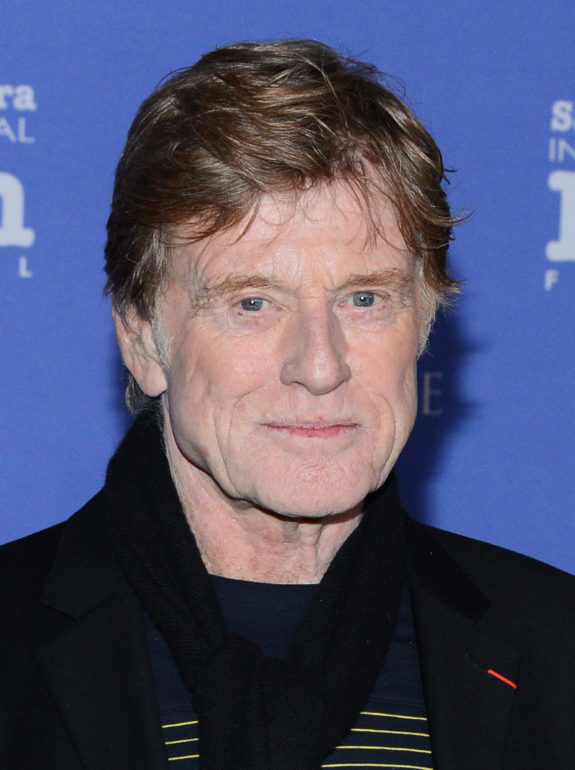 SANTA BARBARA, CA - FEBRUARY 07: Actor Robert Redford attends the 29th Santa Barbara International Film Festival American Riviera Award to Robert Redford at the Arlington Theatre on February 7, 2014 in Santa Barbara, California. (Photo by Mark Davis/Getty Images for SBIFF)