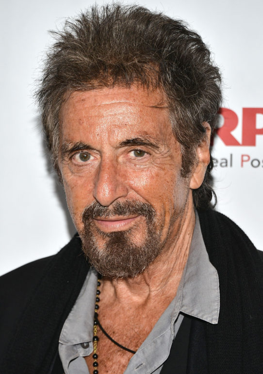 "LOS ANGELES, CA - NOVEMBER 06: Al Pacino attends AARP's 2nd Annual Movies For Grownups Film Showcase - ""The Humbling"" at Regal Cinemas L.A. Live on November 6, 2014 in Los Angeles, California. (Photo by Araya Diaz/WireImage)"
