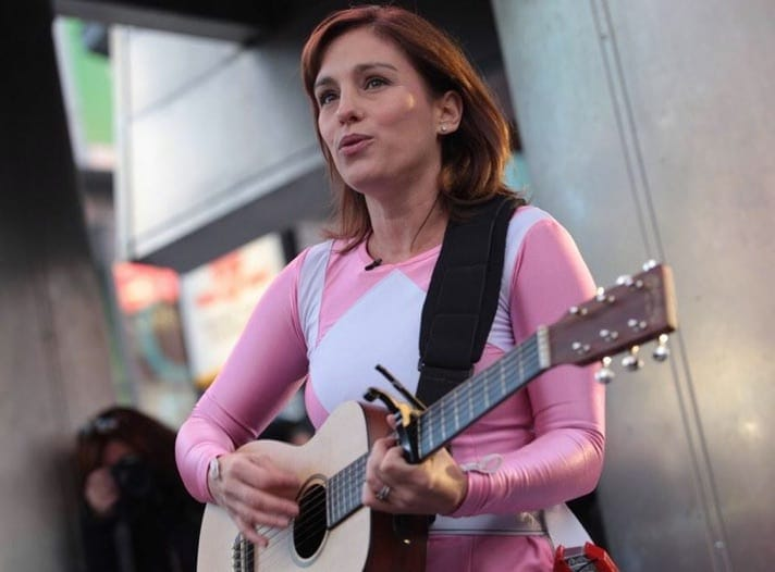 amy-jo-johnson-busking-in-pink-power-ranger-costume