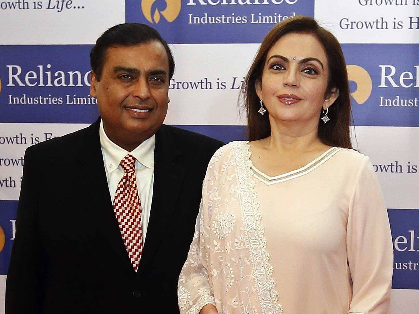Nita-Ambani-is-married-to-industrialist-Mukesh-Ambani-the-richest-man-in-India-