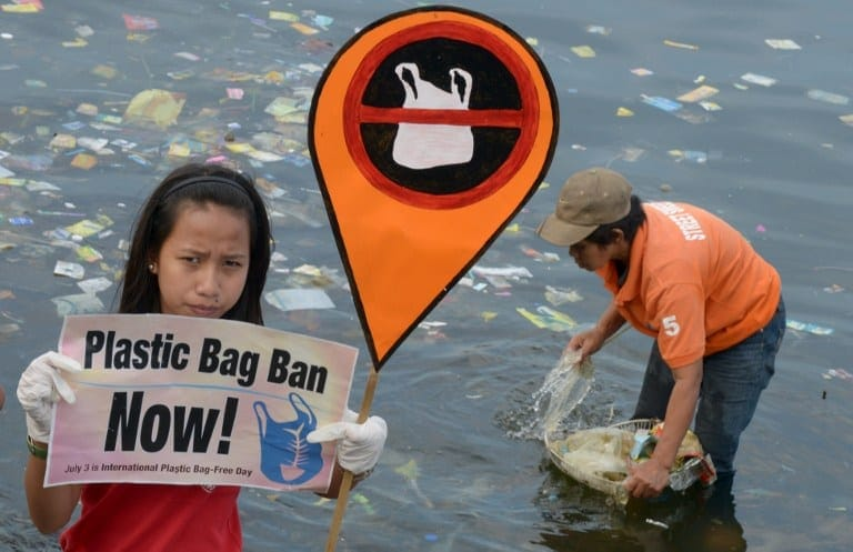 PHILIPPINES-ENVIRONMENT-POLLUTION-WASTE