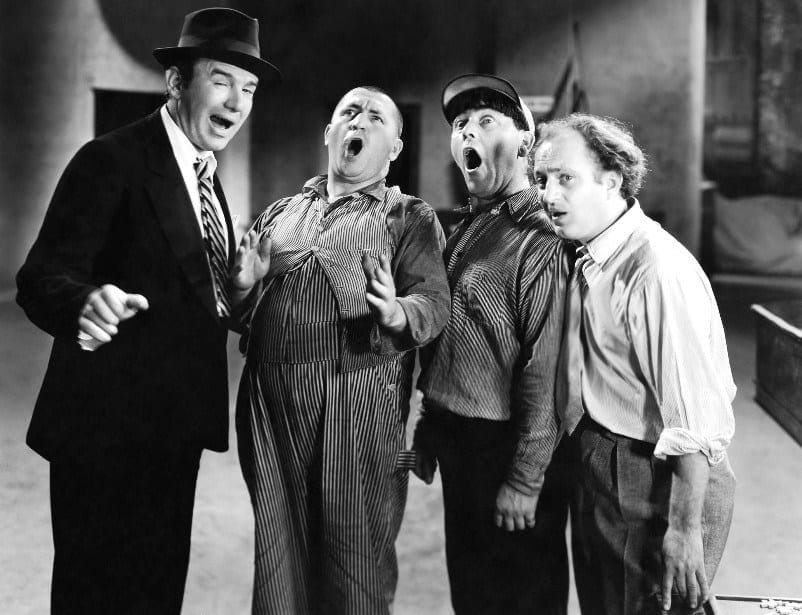 The-Three-Stooges-with-Ted-Healy-in-Dancing-Lady-1933