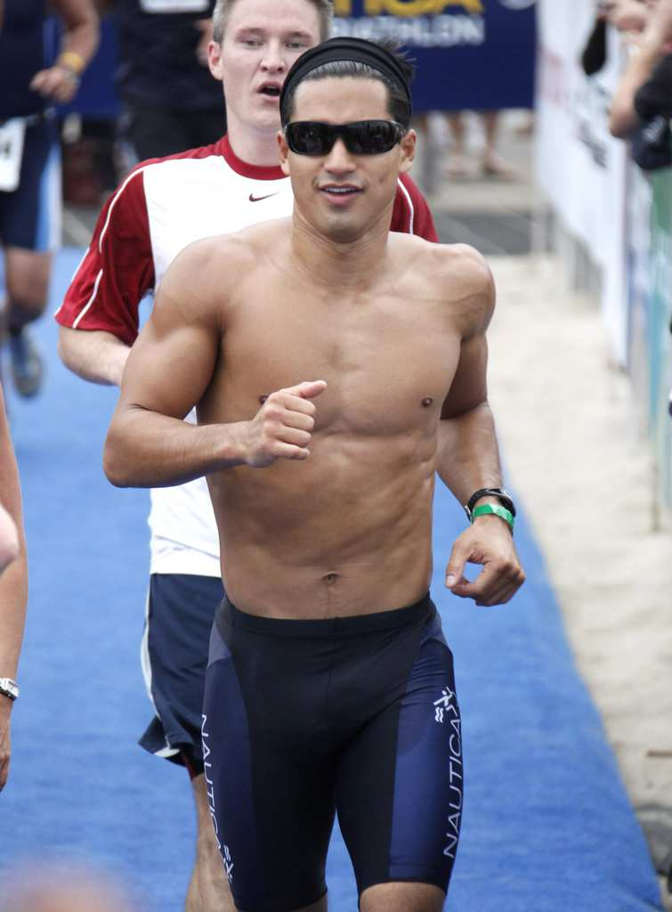 Mario Lopez attends the 23rd Annual Nautica Malibu Triathalon at Zuma Beach on September 13, 2009 in Malibu, California. (Photo by Jean Baptiste Lacroix/WireImage)