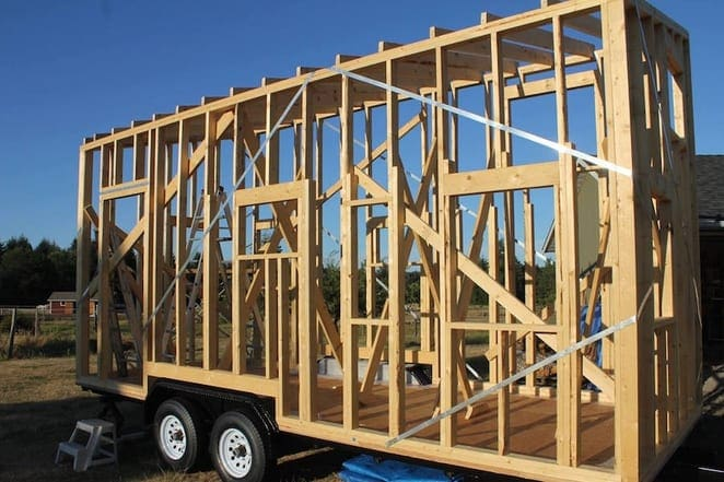 How to build a tiny house step by step kiwireport for Steps to start building a house