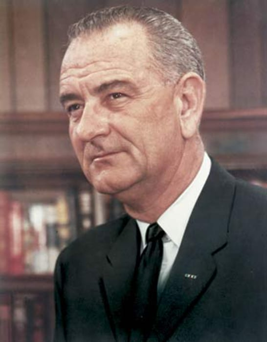 president johnson war on crime 1965 To some, the vietnam war was a crime – an attempt by the united states to  in  an internal johnson administration memo of march 1965, assistant  in a speech  the following month, president johnson stressed america's.