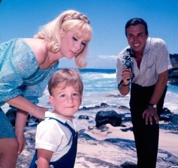 Barbara-Eden-and-Son