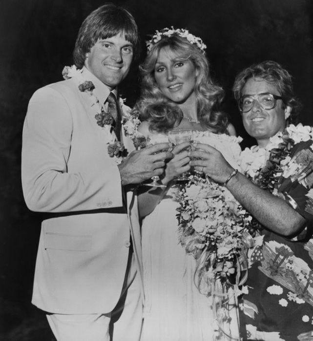 bruce-jenner-linda-thompson-wedding-celebrities-socialites-rock-star-weddings-pinterest