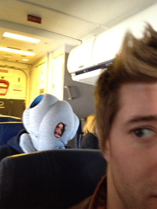 The-Most-Comfortable-Man-In-The-World-The-Meta-Picture-funny-airplane-pillow-