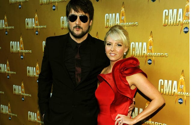 Eric Church wife then