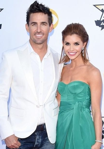 ARLINGTON, TX - APRIL 19: Singer Jake Owen (L) and Lacey Buchanan attend the 50th Academy of Country Music Awards at AT&T Stadium on April 19, 2015 in Arlington, Texas. (Photo by Jason Merritt/Getty Images)