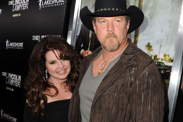 Rhonda-Forlaw-and-Trace-Adkins-snapped-at-an-event