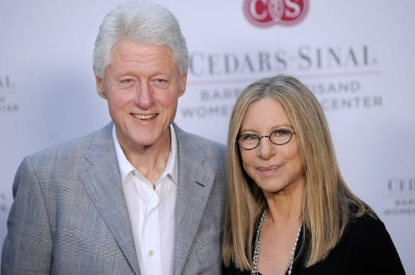 former-us-president-bill-clinton-singer-barbra-streisand-team-charity-event-womens-heart-health