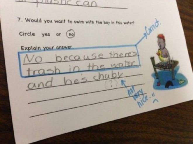 60 hysterical kids test answers that are too brilliant to handle