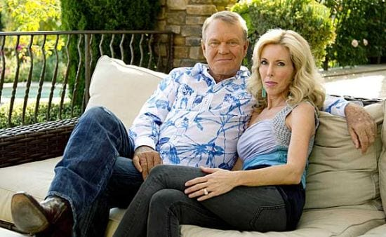 Glen-Campbell-wife-Kimberly-Woolen