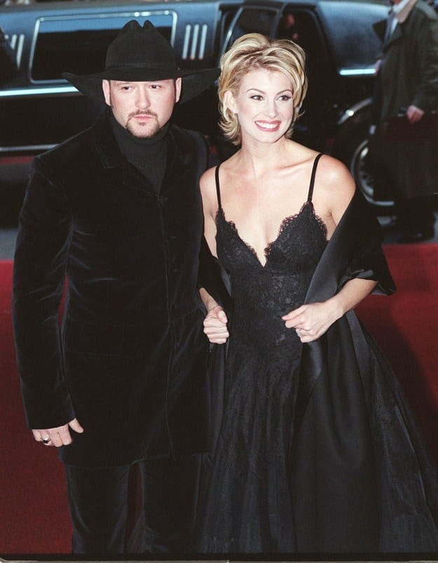 Tim and Faith old