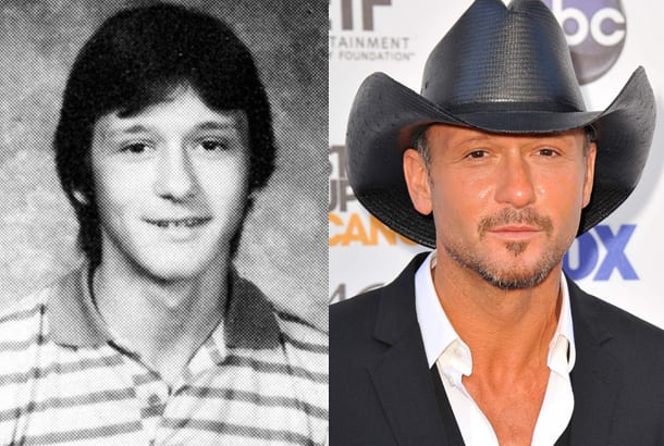 tim-mcgraw-yearbook-high-school-young-1983-red-carpet-2012-photo-split