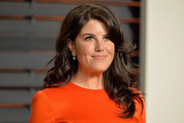 BEVERLY HILLS, CA - FEBRUARY 22: Designer Monica Lewinsky attends the 2015 Vanity Fair Oscar Party hosted by Graydon Carter at Wallis Annenberg Center for the Performing Arts on February 22, 2015 in Beverly Hills, California. (Photo by Alberto E. Rodriguez/WireImage)