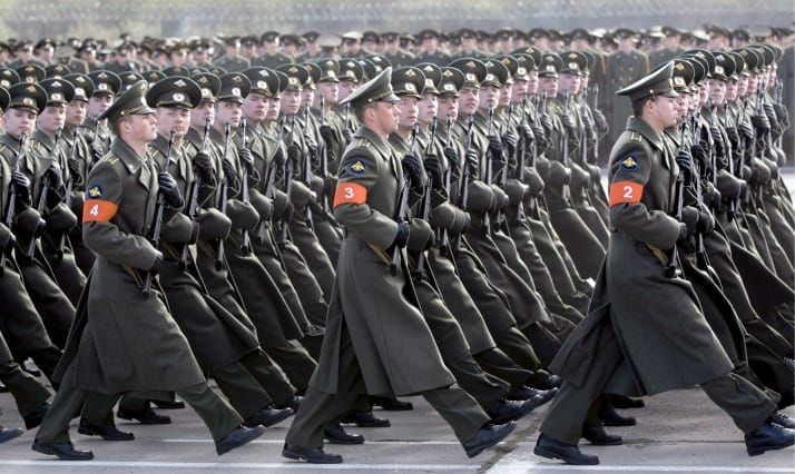 Russian army scraps new uniforms