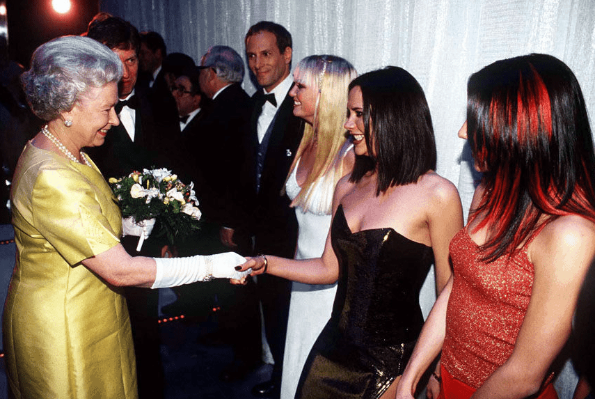 Spice-Girls-at-Victoria-Palace-Theatre-1997