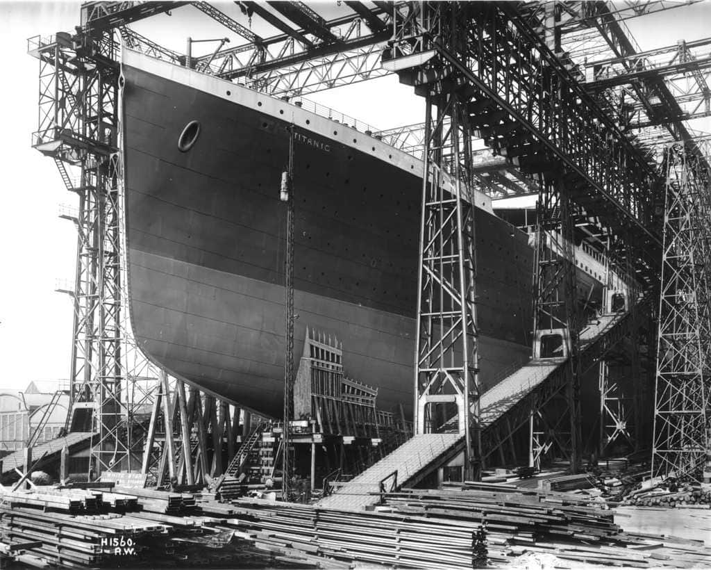 titanic-construction