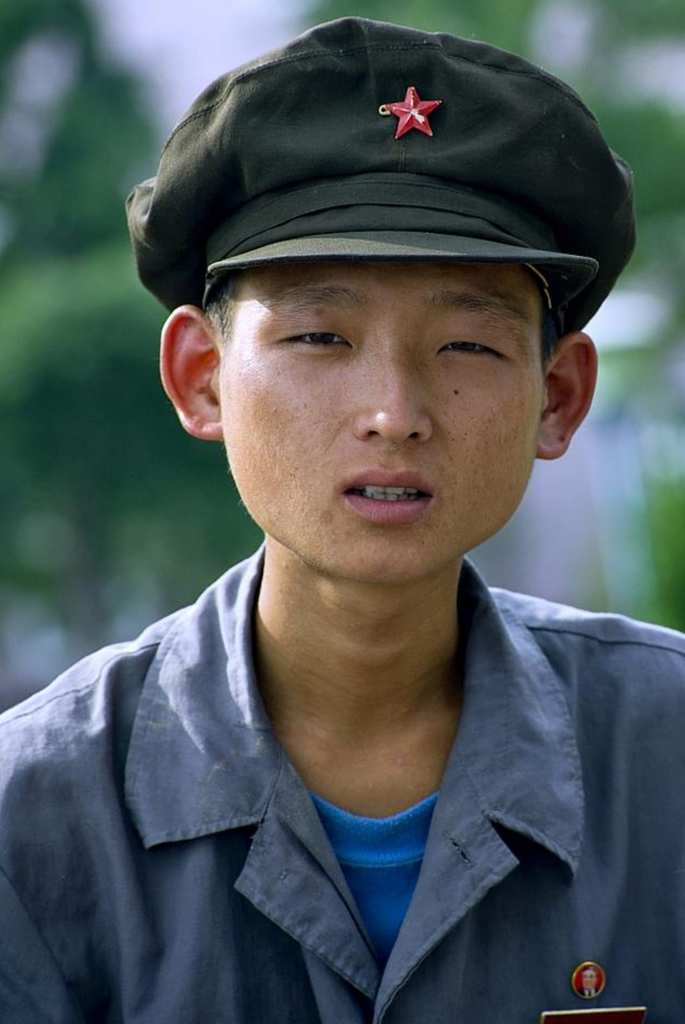 Malnourished North Korean