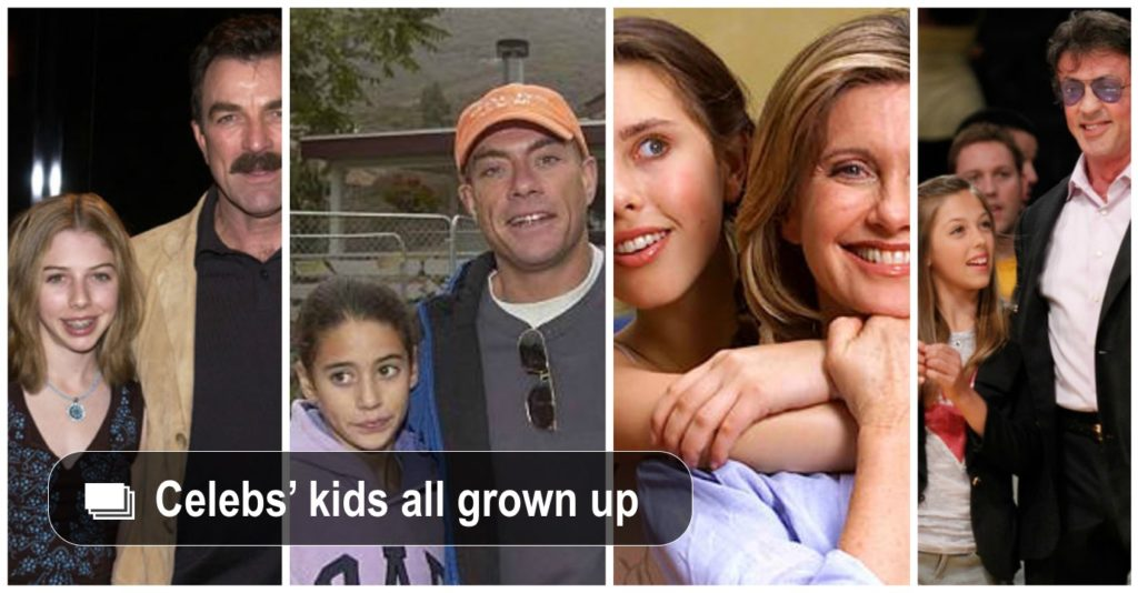 Amazing Celebrity Kids Grown Up | KiwiReport