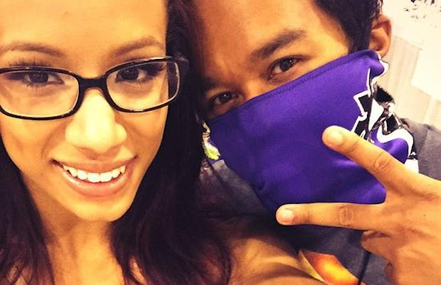 Sasha-Banks-and-Sarath-Ton