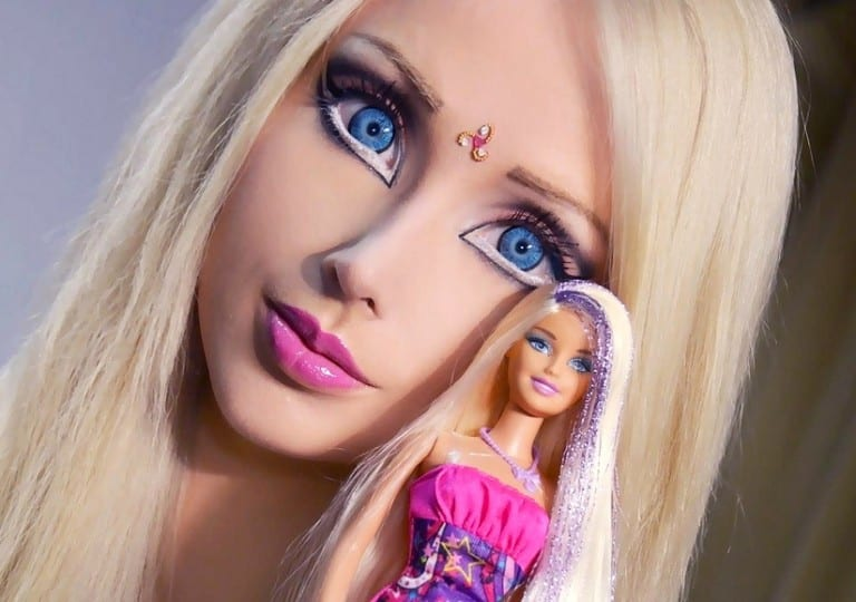 Are absolutely Real life barbie doll girl think, that