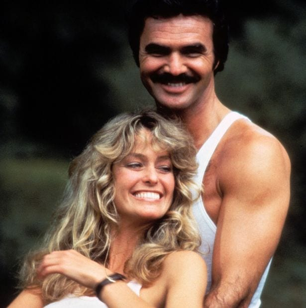 Farrah-Fawcett-as-Pamela-Glover-Burt-Reynolds-as-JJ-McClure-The-Cannonball-Run-1981