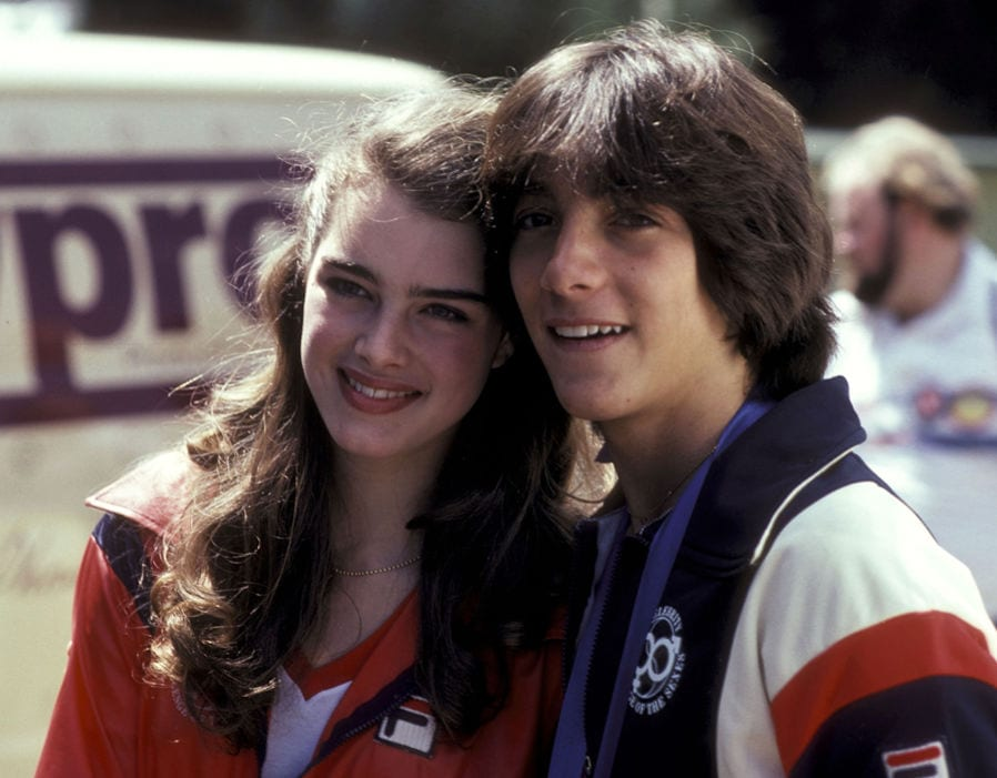 Dean Cain And Brooke Shields