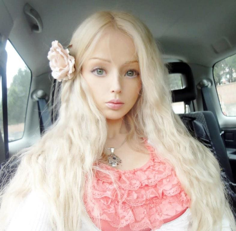 Celebrity real life barbie russia