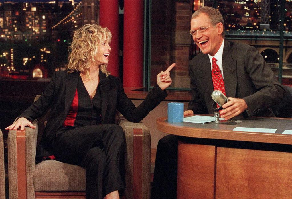 farrah-fawcett-david-letterman-1999