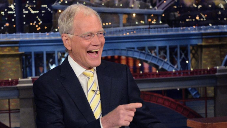 President Barack Obama was CBs Late Show host David Letterman's guest during 5/4 taping in New York. Photo: John Paul Filo/CBS ©2015CBS Broadcasting Inc. All Rights Reserved
