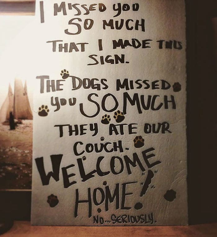 The Funniest Airport 'welcome Home' Signs