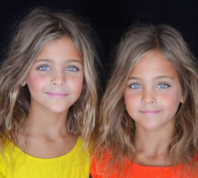 Famous celebrity twins identical pictures