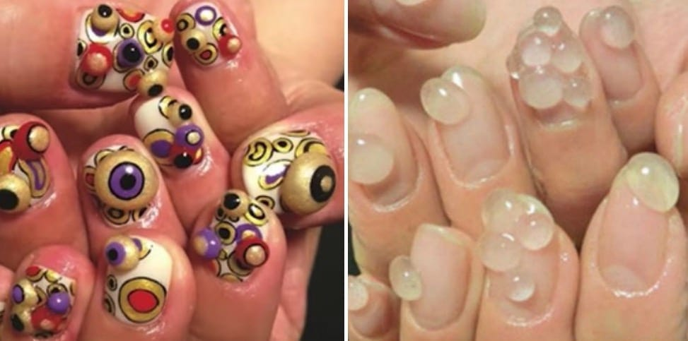 21 major nail art fails and wins kiwireport this person clearly put in a lot of effort to pull of the bubble nail look but it ended up looking like they fighting off some weird kind of growth sciox Gallery