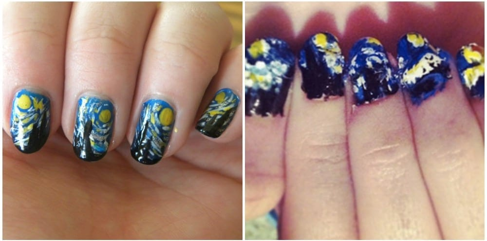21 major nail art expectation vs. reality fails | KiwiReport