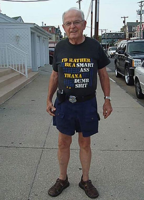 Image of: Quotes Amazingly This Old Dude Seems To Have Skipped The Game In General And Just Printed His Answer On His Hilarious Tshirt Instead Of Course Most Of Us Make Readers Digest The Funniest Tshirt Jokes Weve Ever Seen Kiwireport