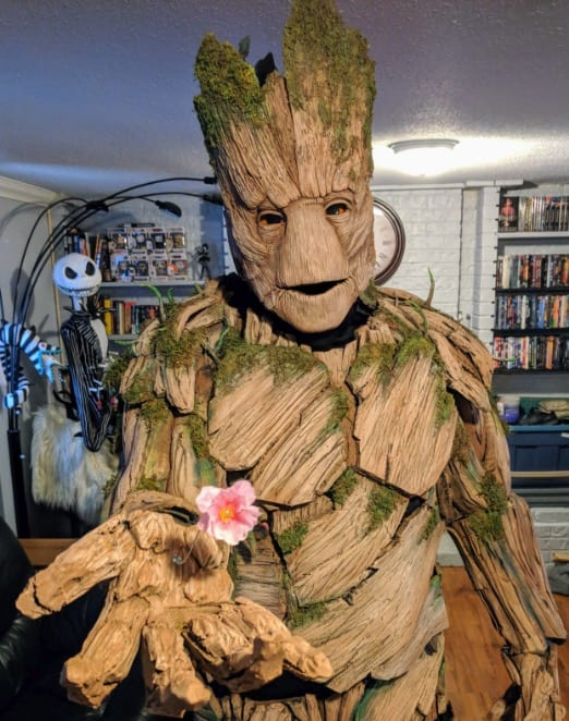 ... Communicate With His Peers). As For This Costume, Isnu0027t It Just Grand?  Itu0027s Practically Flawless, And It Actually Inspires Us To Look For A Groot  ...