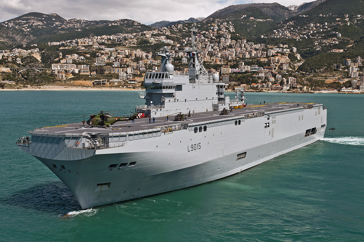 French-Dixmude-helicopter-carrier