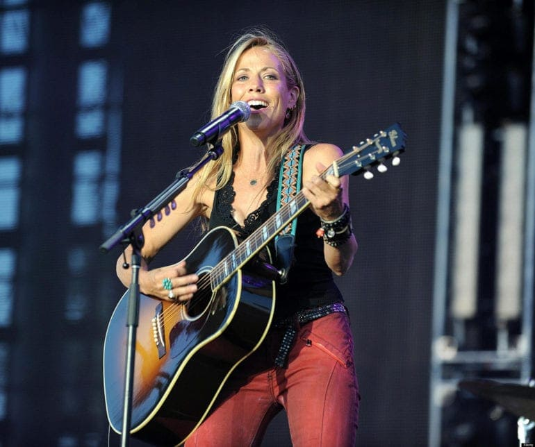 Apr 29, 2012 - Indio, California; USA - Musician SHERYL CROW performs live as part of the 2012 Stagecoach California's Country Music Festival that is taking place at the Empire Polo Field. The three day festival will attract thousands of fans to see a va