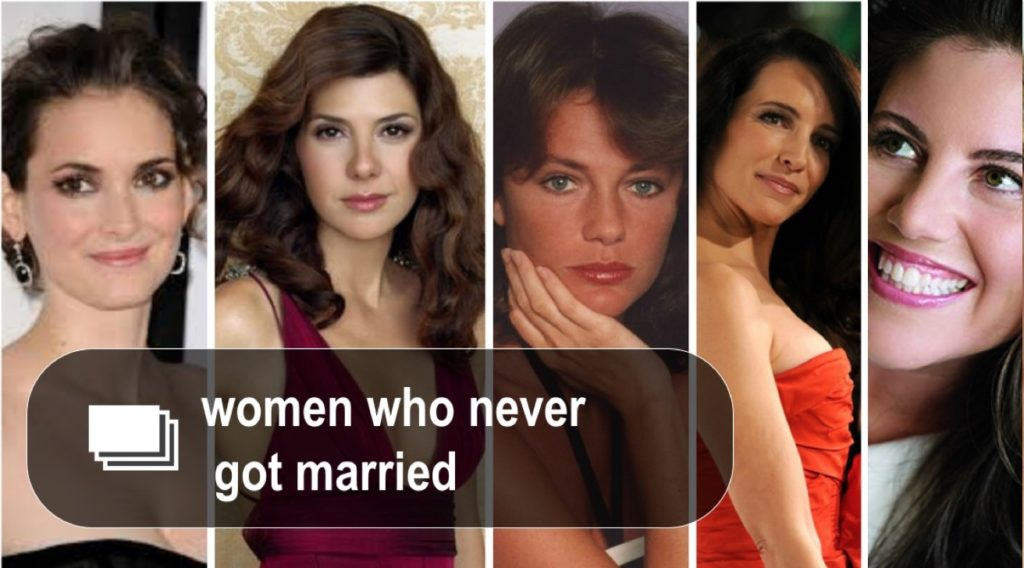 Famous women who never...