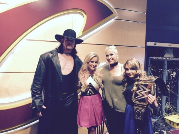 Who is hookup or married in the wwe