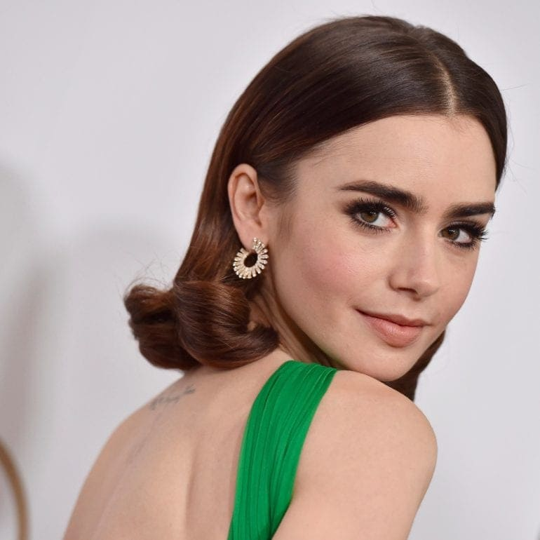 Lily-Collins-Talks-About-Her-Eyebrows-2017