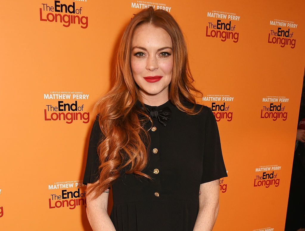 LONDON, ENGLAND - FEBRUARY 11: Lindsay Lohan attends an after party celebrating the World Premiere of 'The End Of Longing', written by and starring Matthew Perry, on February 11, 2016 in London, England. (Photo by David M. Benett/Dave Benett/Getty Images)